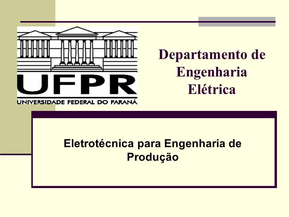 Departamento de Engenharia Elétrica