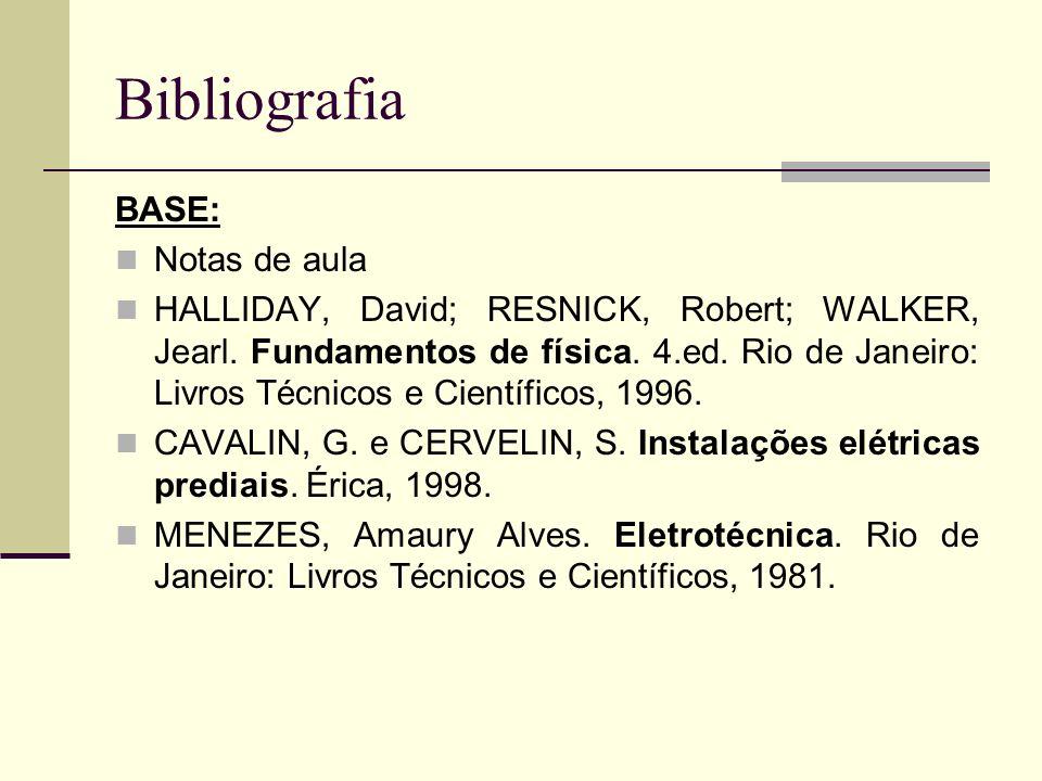 Bibliografia BASE: Notas de aula