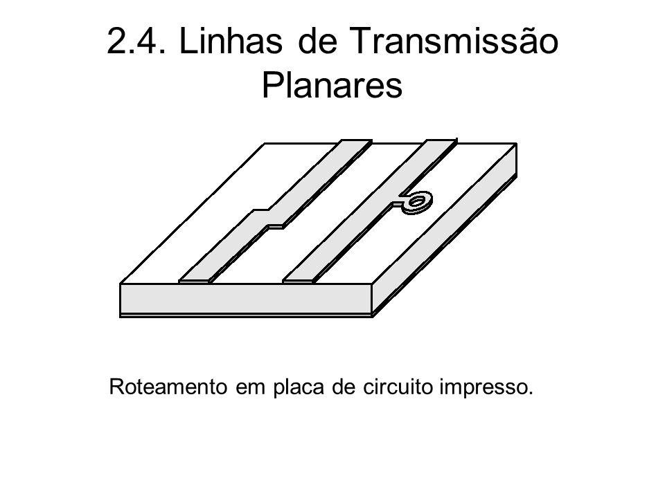 2.4. Linhas de Transmissão Planares