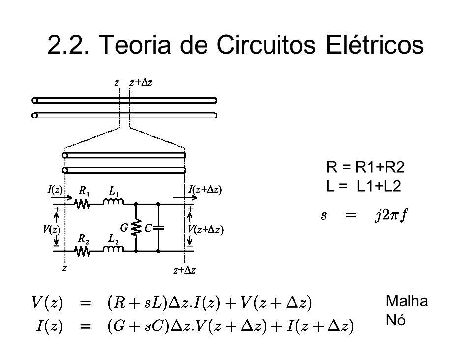2.2. Teoria de Circuitos Elétricos