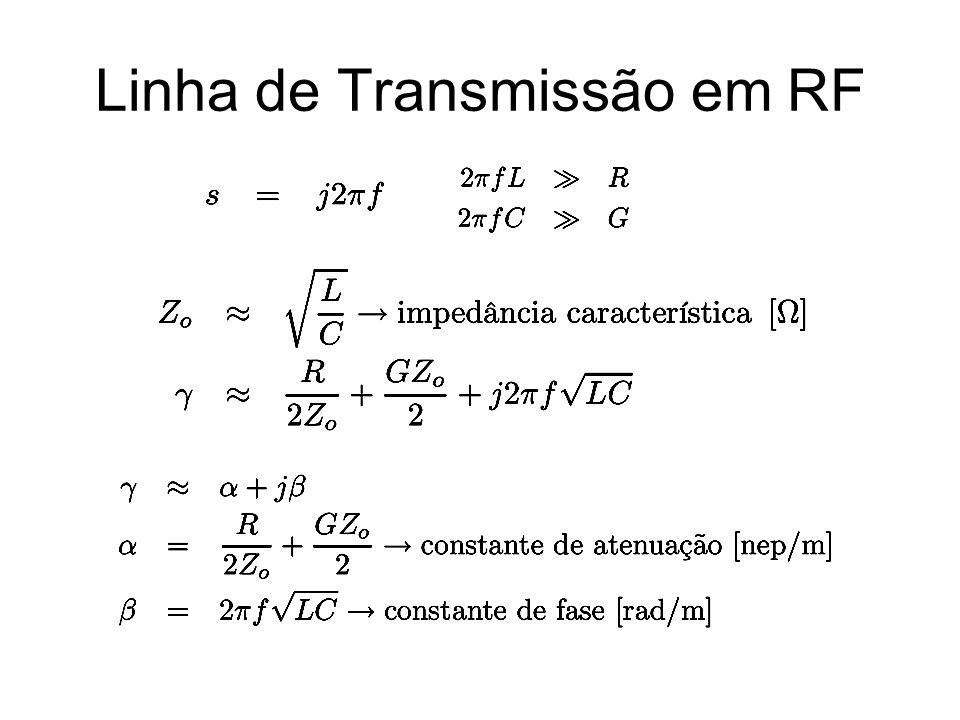 Linha de Transmissão em RF