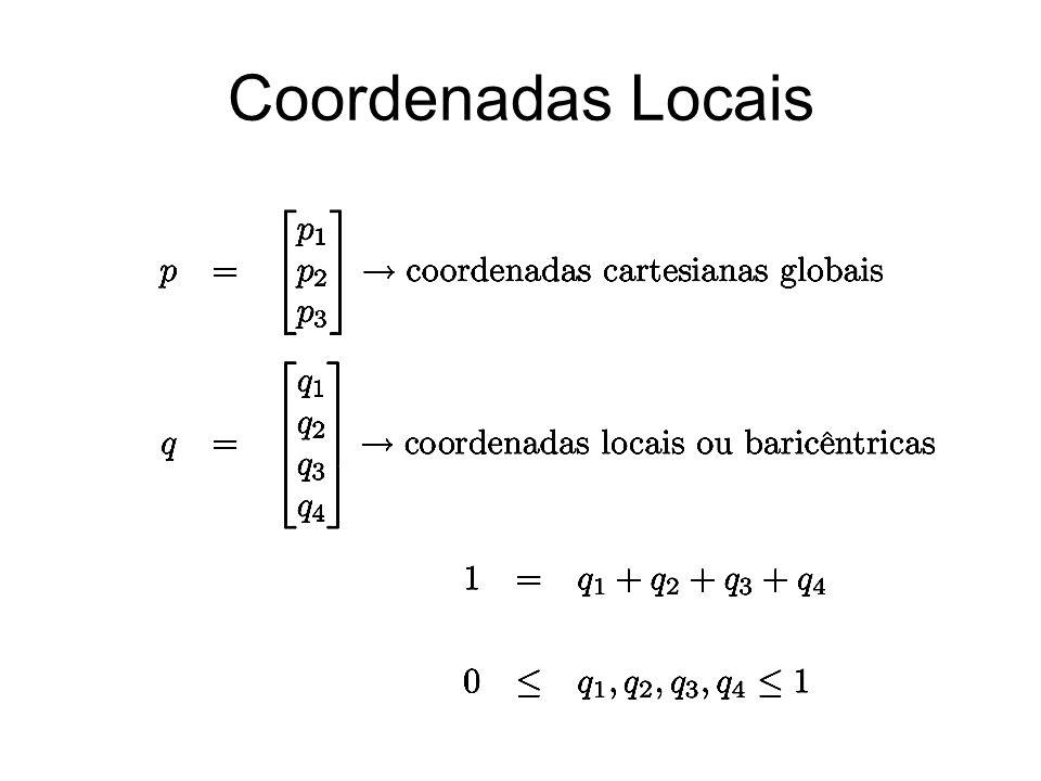 Coordenadas Locais