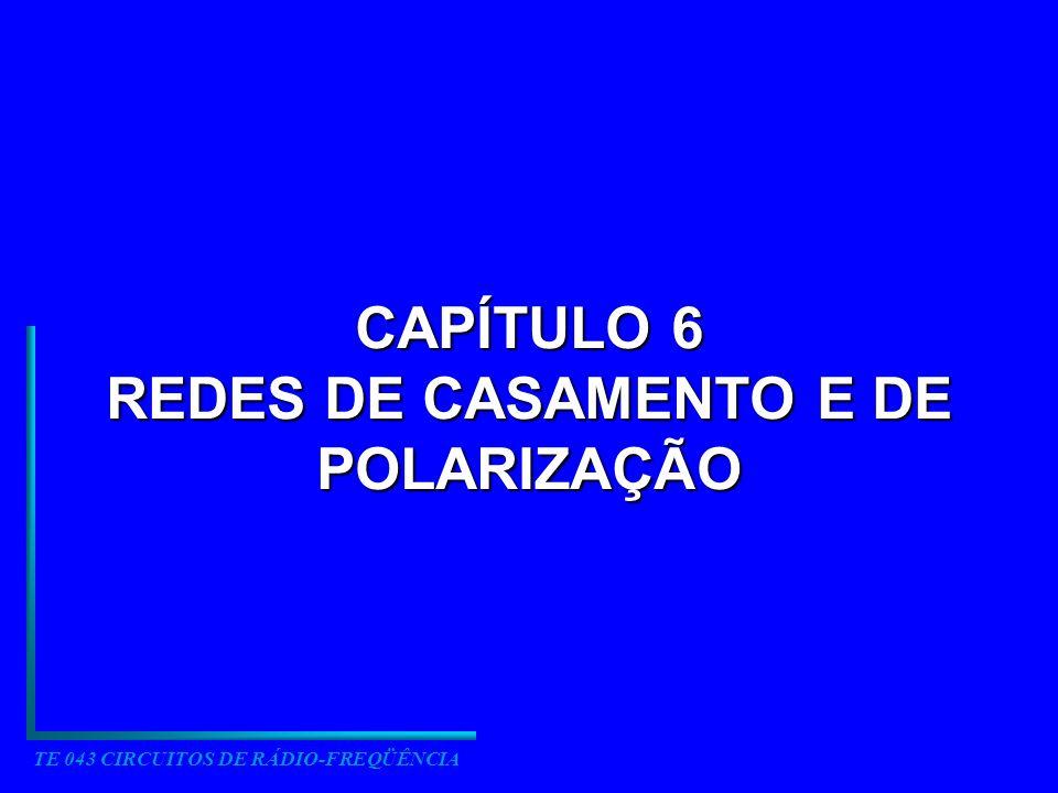 CAPÍTULO 6 REDES DE CASAMENTO E DE POLARIZAÇÃO