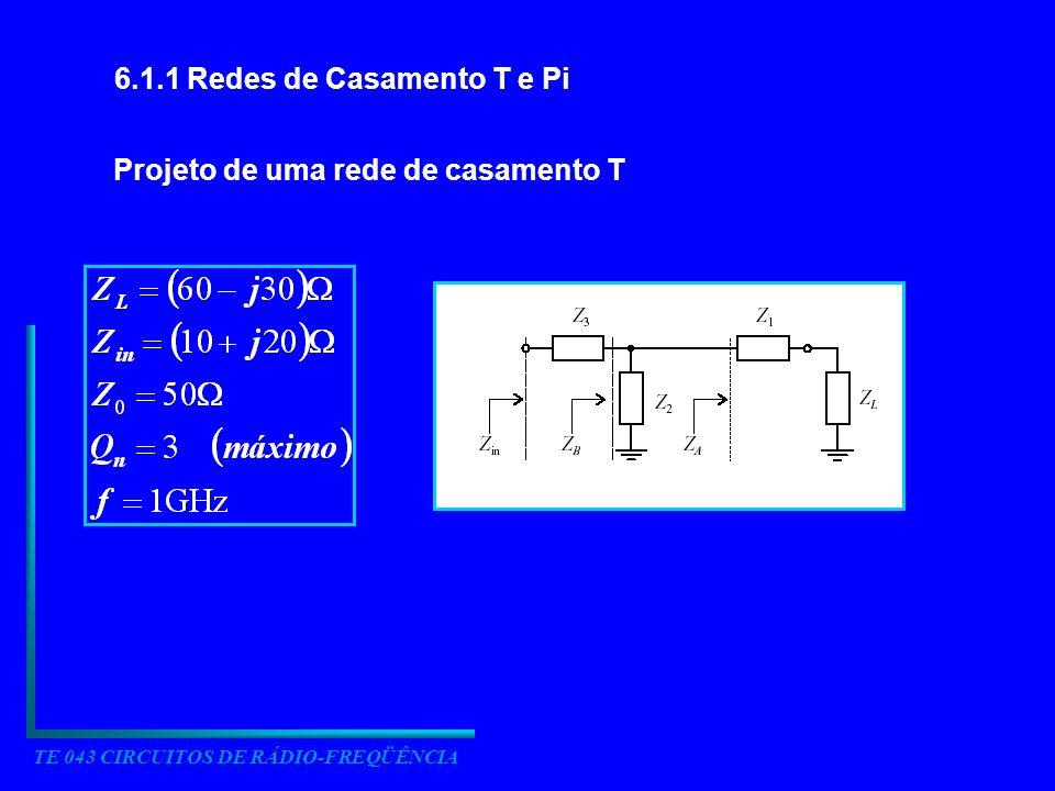 TE 043 CIRCUITOS DE RÁDIO-FREQÜÊNCIA
