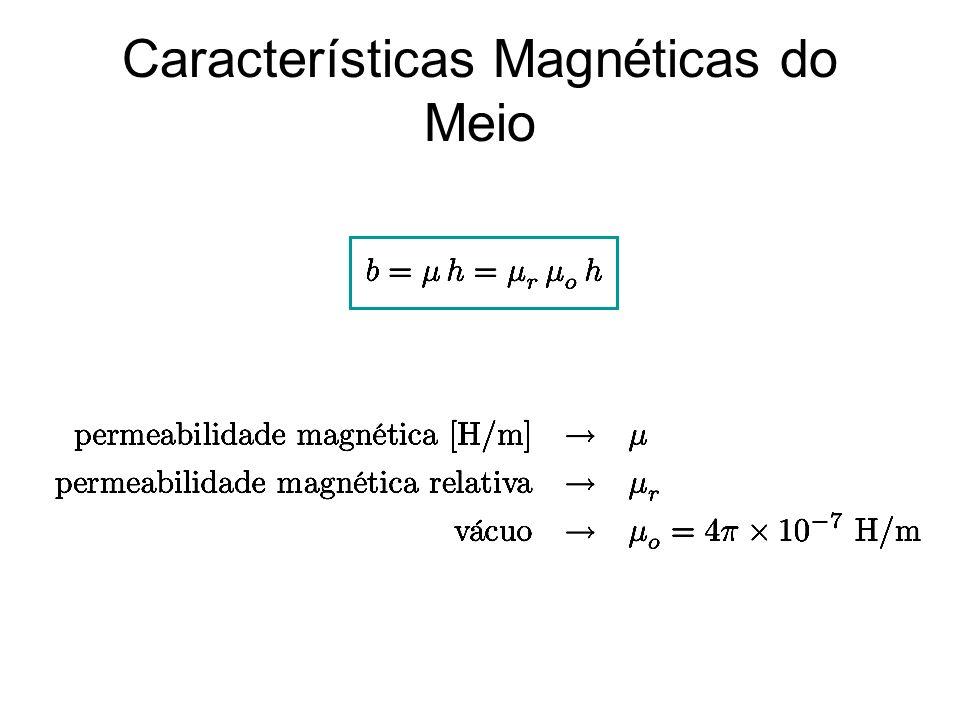 Características Magnéticas do Meio