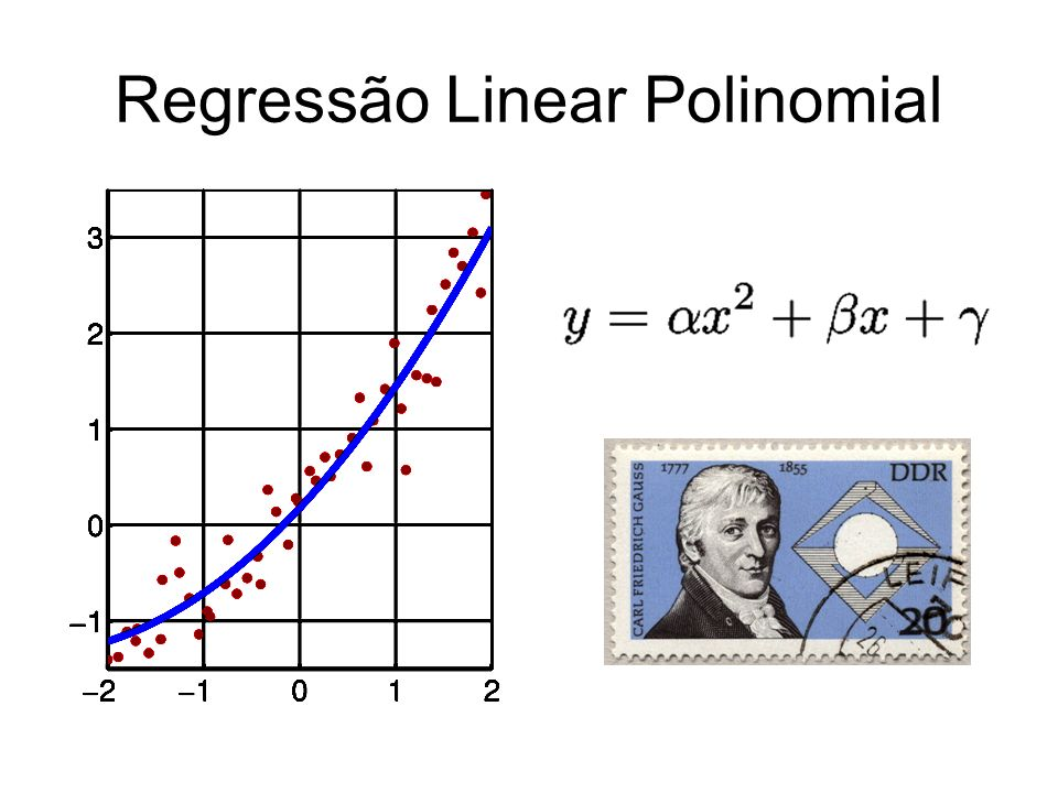 Regressão Linear Polinomial