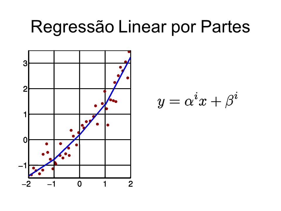 Regressão Linear por Partes