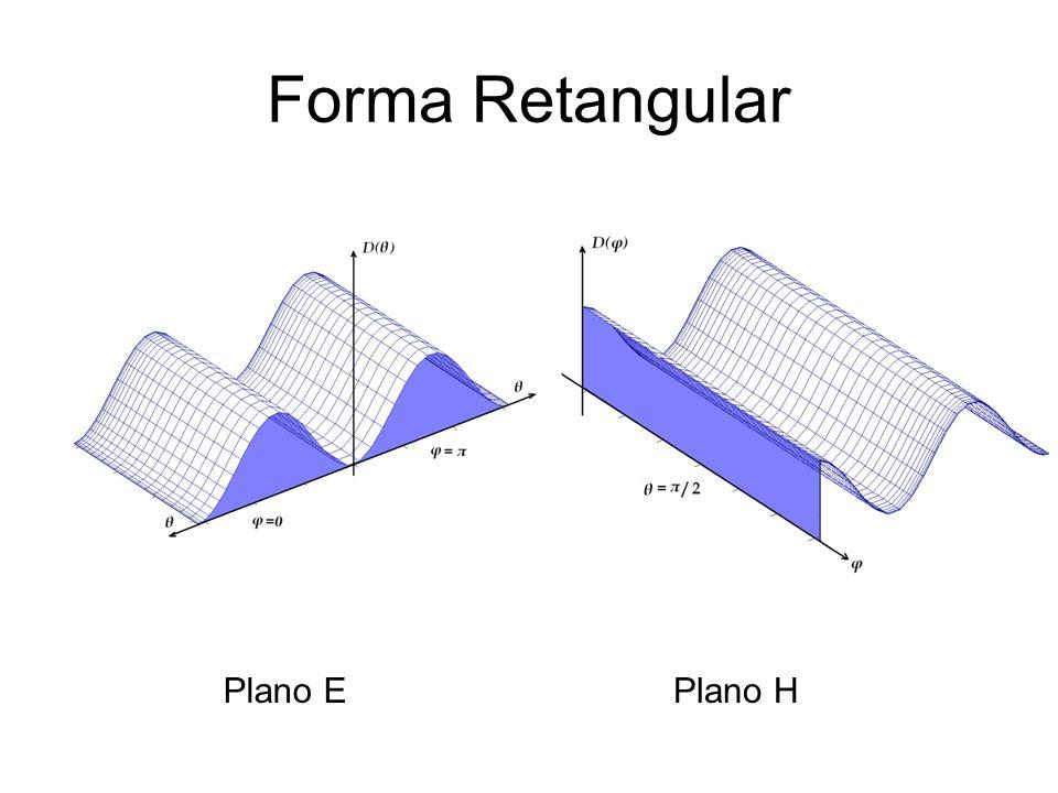 Forma Retangular Plano E Plano H