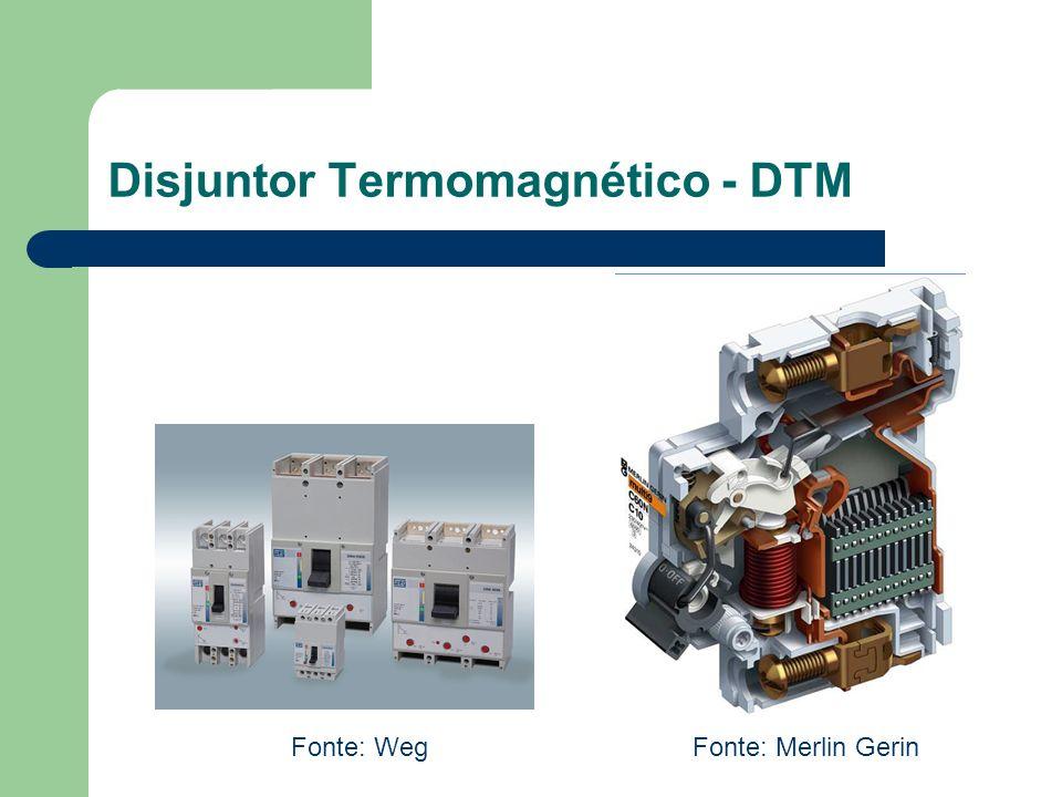 Disjuntor Termomagnético - DTM