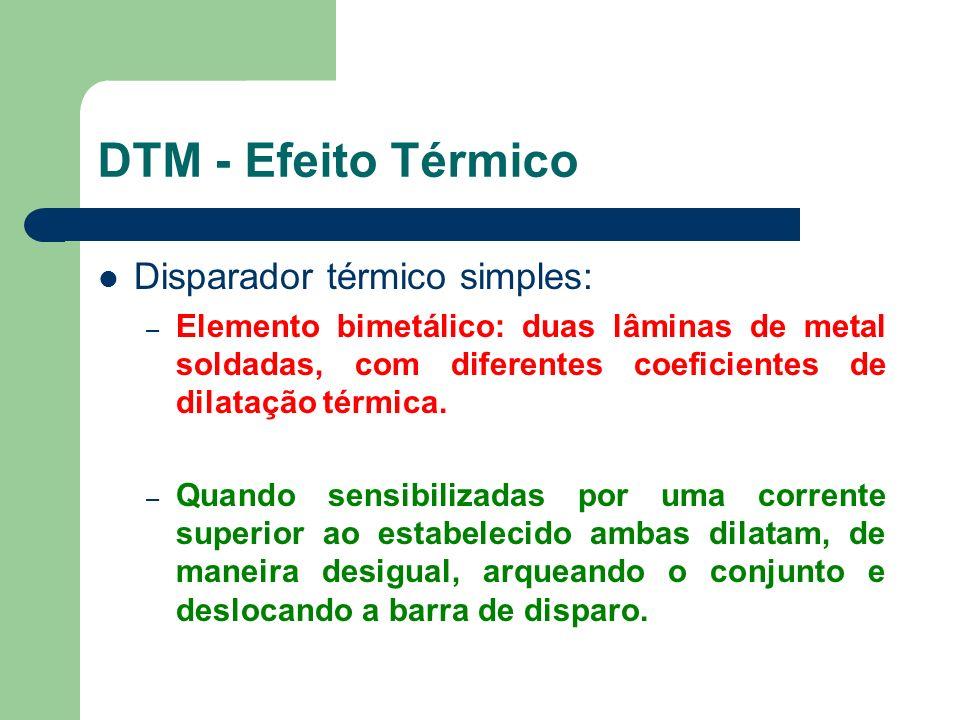 DTM - Efeito Térmico Disparador térmico simples: