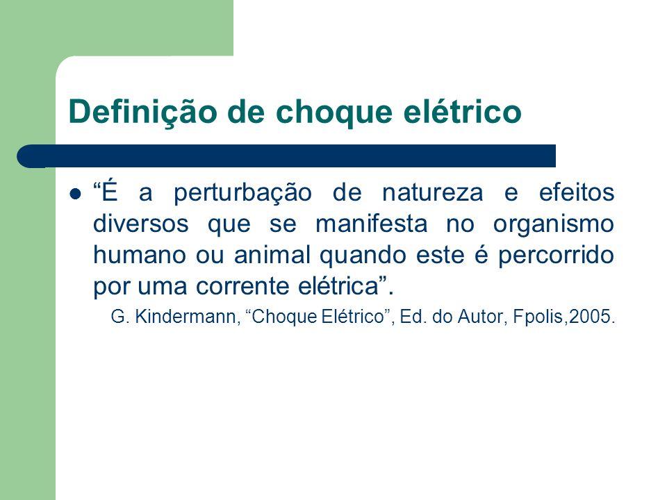 Definição de choque elétrico