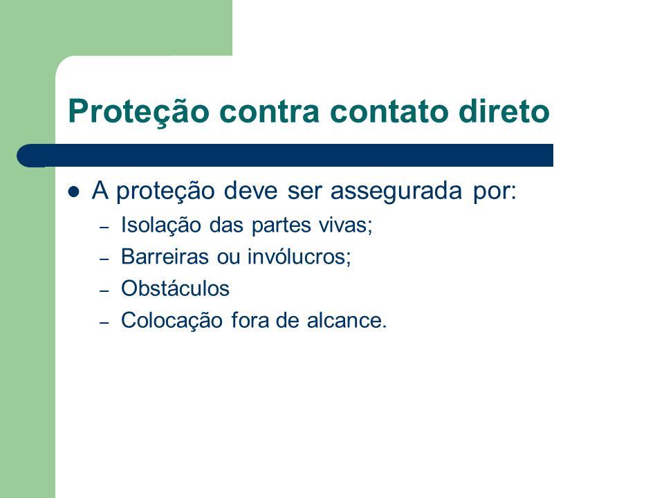 Proteção contra contato direto