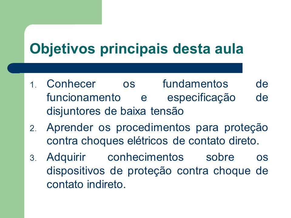 Objetivos principais desta aula
