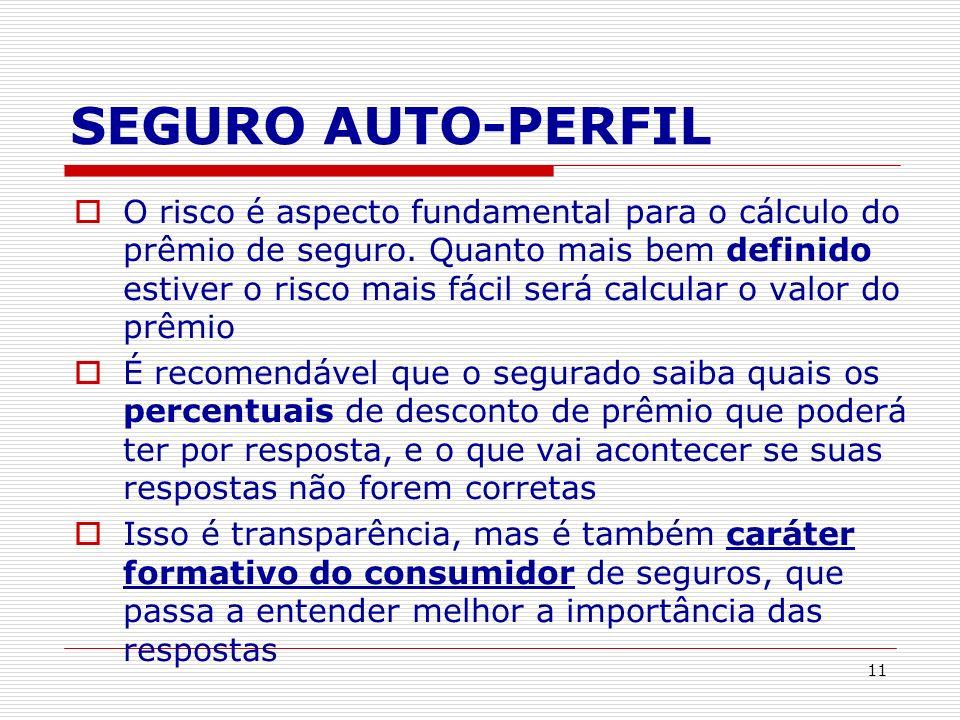 SEGURO AUTO-PERFIL