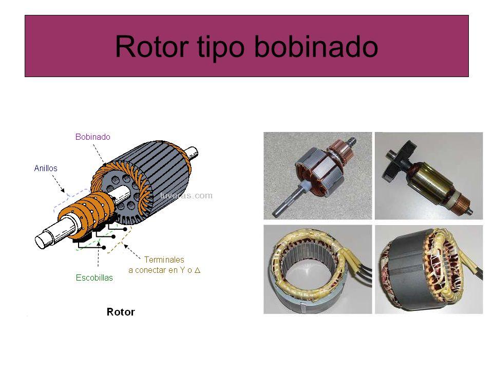 Rotor tipo bobinado