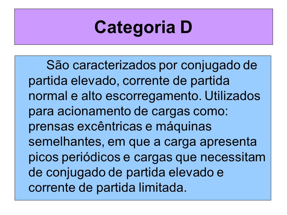 Categoria D