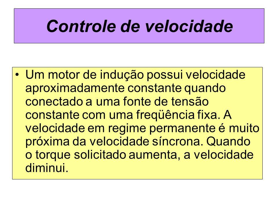 Controle de velocidade