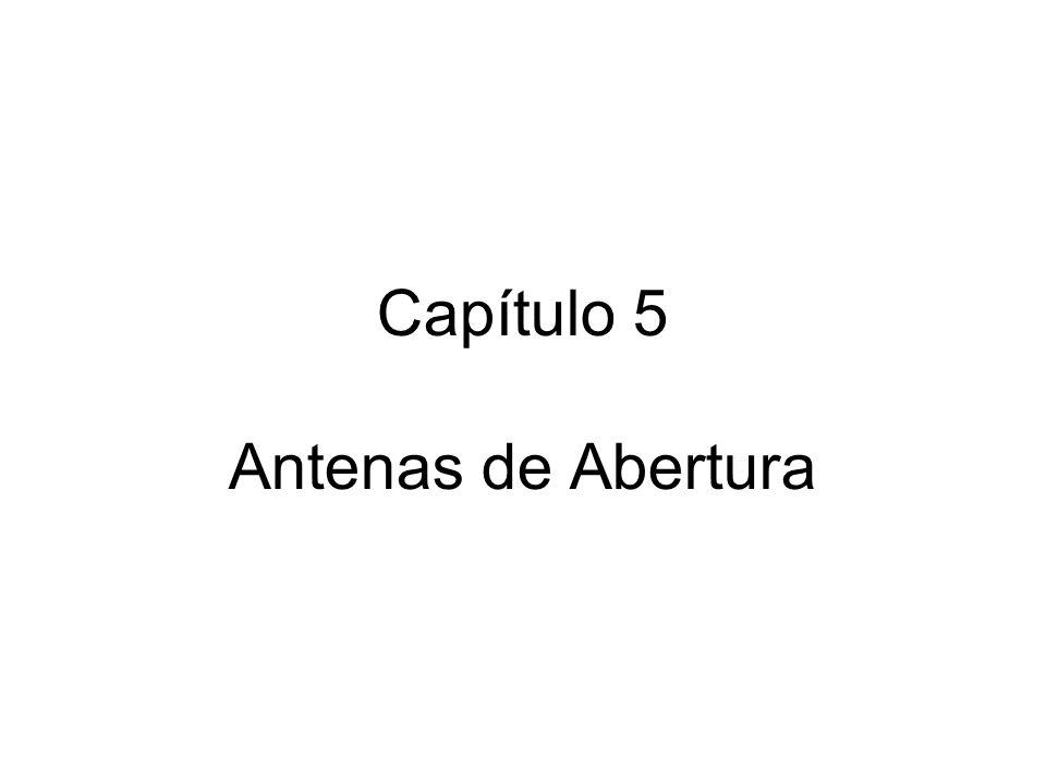 Capítulo 5 Antenas de Abertura