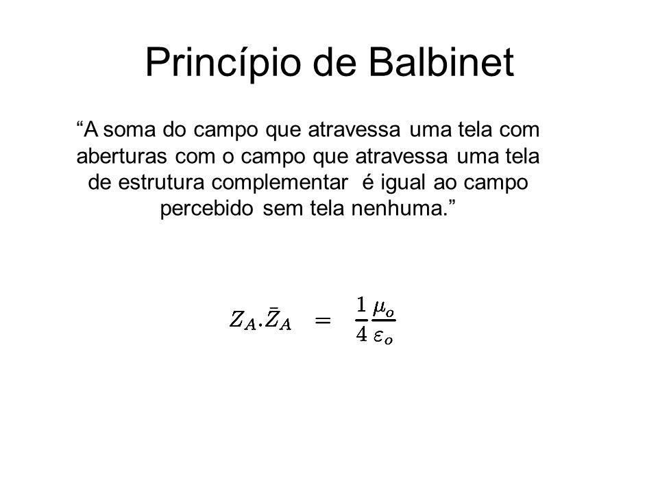 Princípio de Balbinet