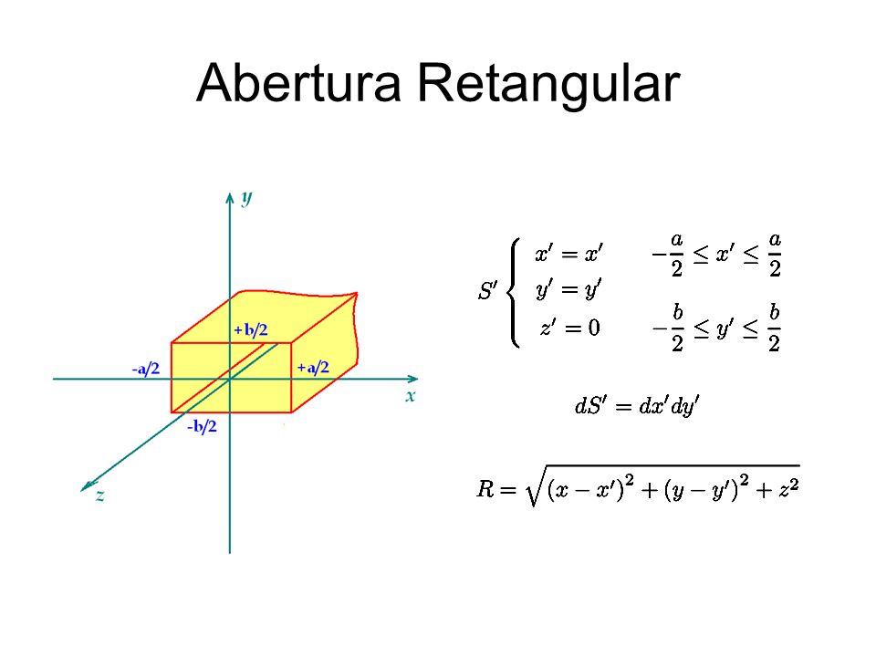 Abertura Retangular