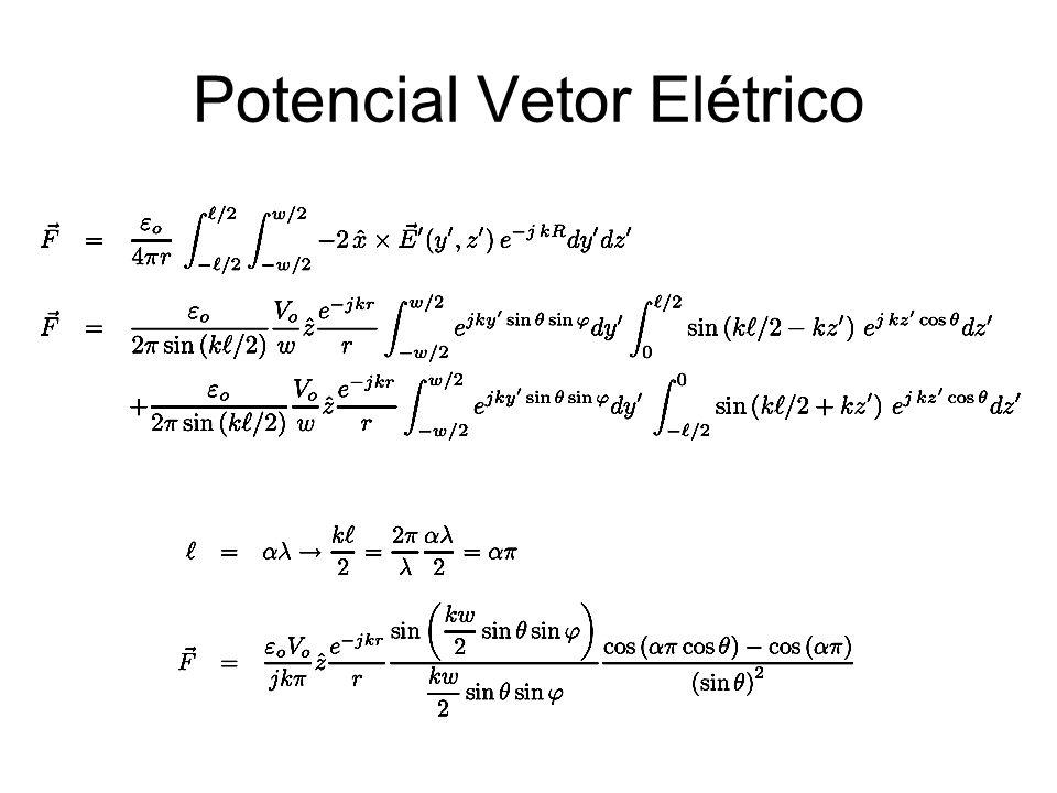 Potencial Vetor Elétrico