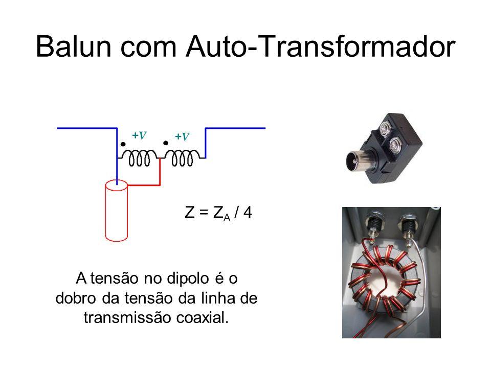 Balun com Auto-Transformador