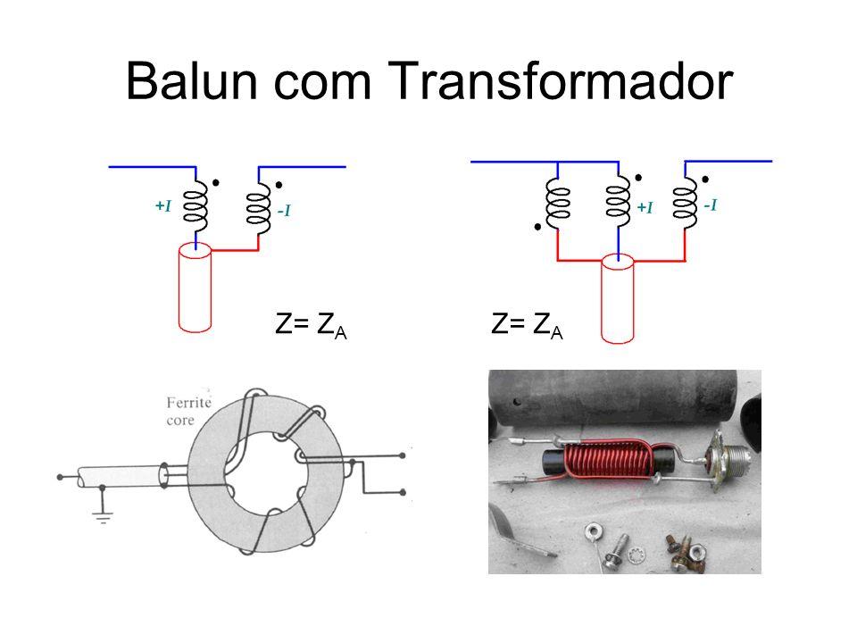 Balun com Transformador