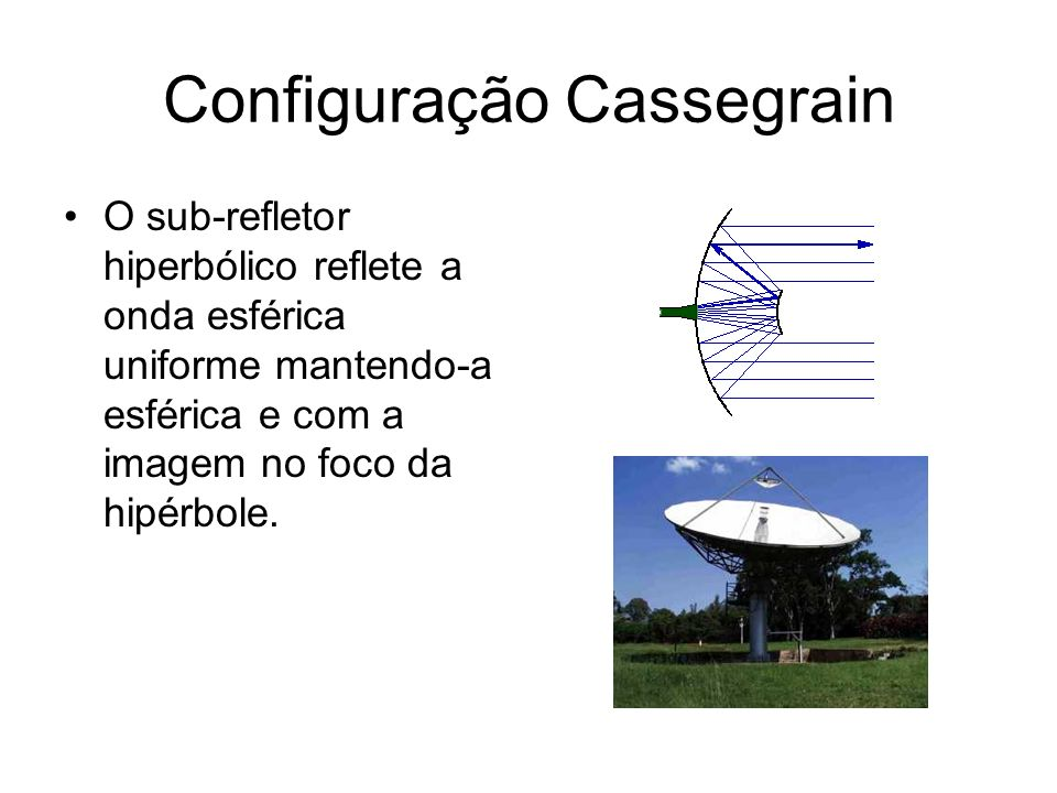 Configuração Cassegrain