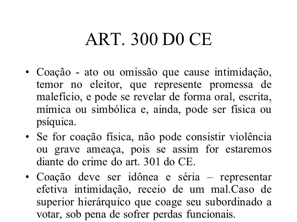 ART. 300 D0 CE