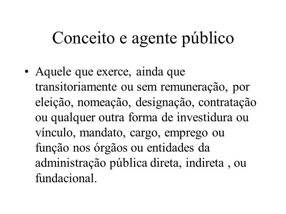 Conceito e agente público