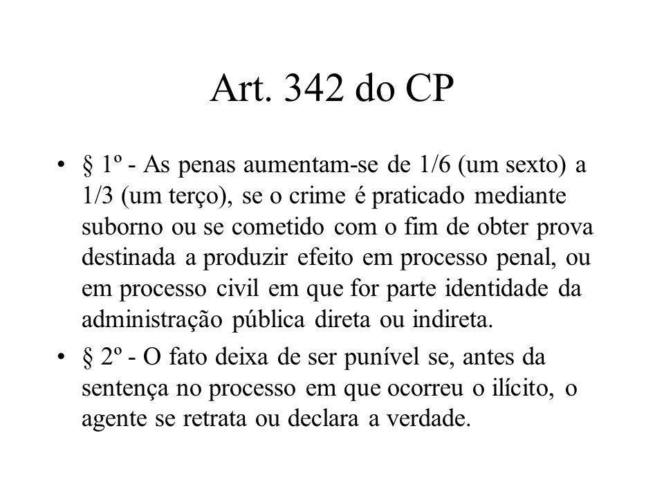 Art. 342 do CP