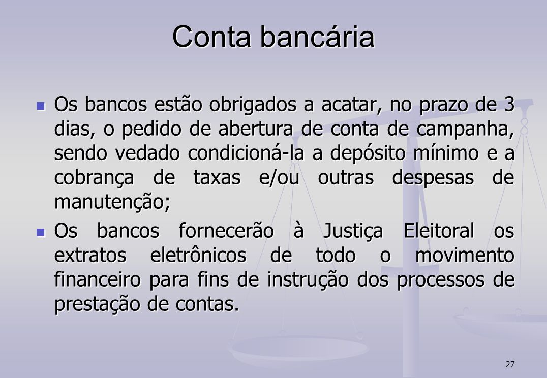 Conta bancária