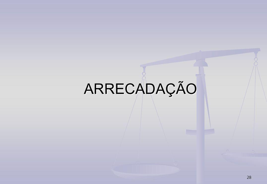 ARRECADAÇÃO