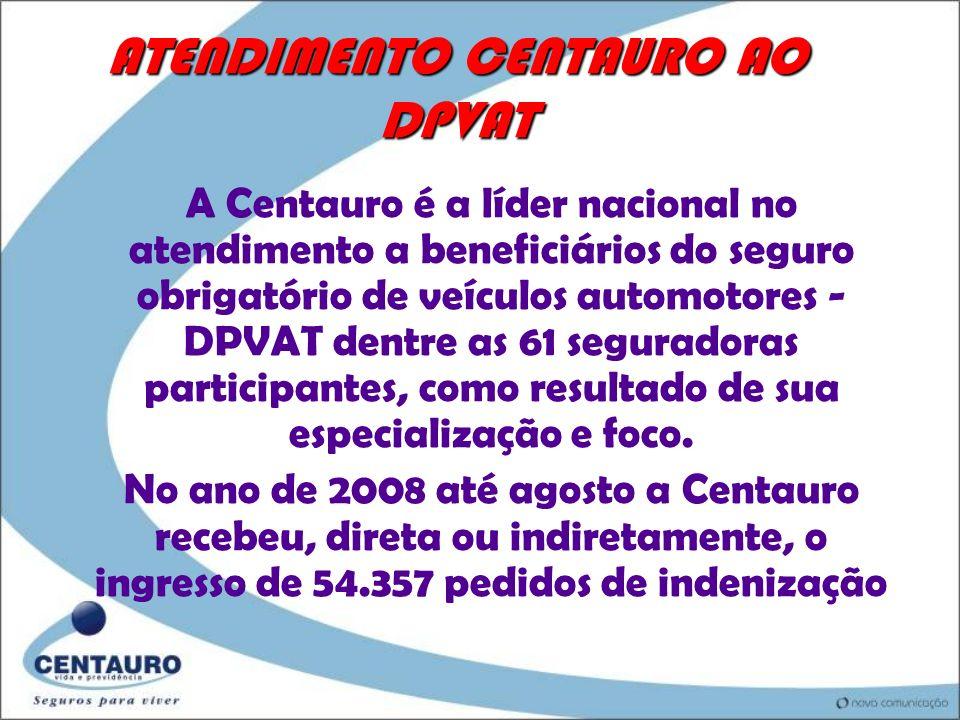 ATENDIMENTO CENTAURO AO DPVAT