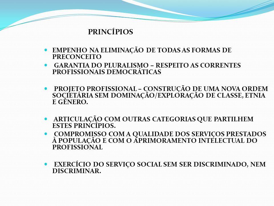 EMPENHO NA ELIMINAÇÃO DE TODAS AS FORMAS DE PRECONCEITO