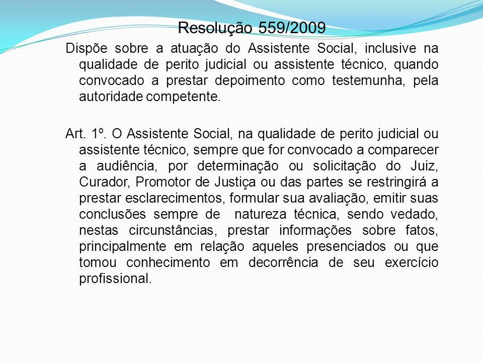 Resolução 559/2009