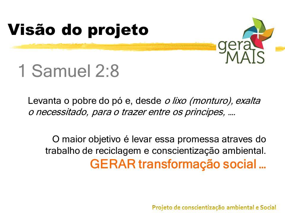 1 Samuel 2:8 Visão do projeto