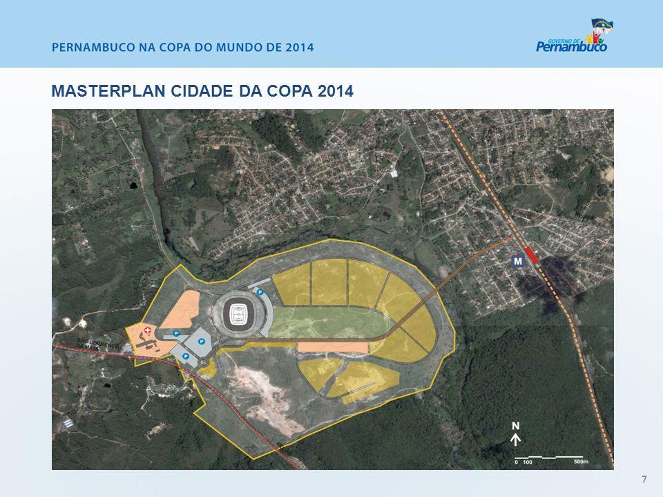 Masterplan Cidade da Copa 2014