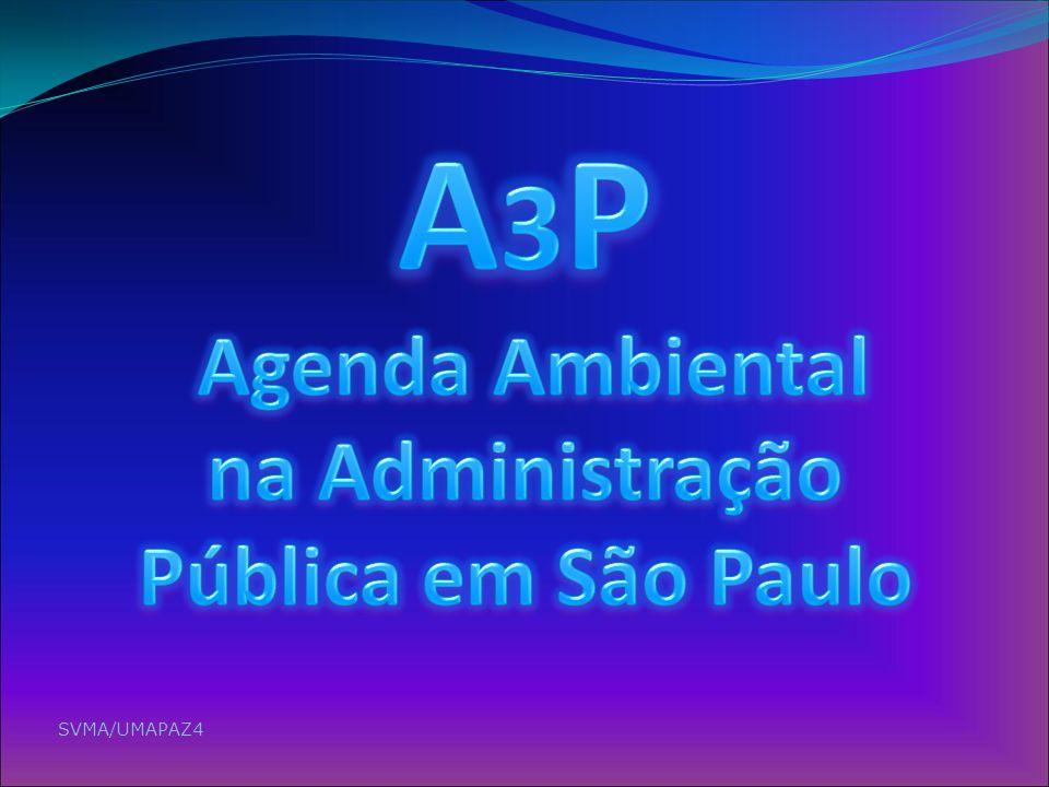 A3P Agenda Ambiental na Administração Pública em São Paulo