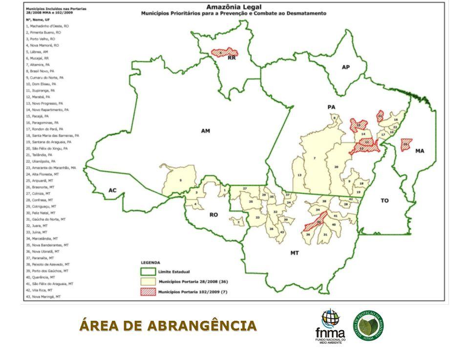 ÁREA DE ABRANGÊNCIA 3 3 3