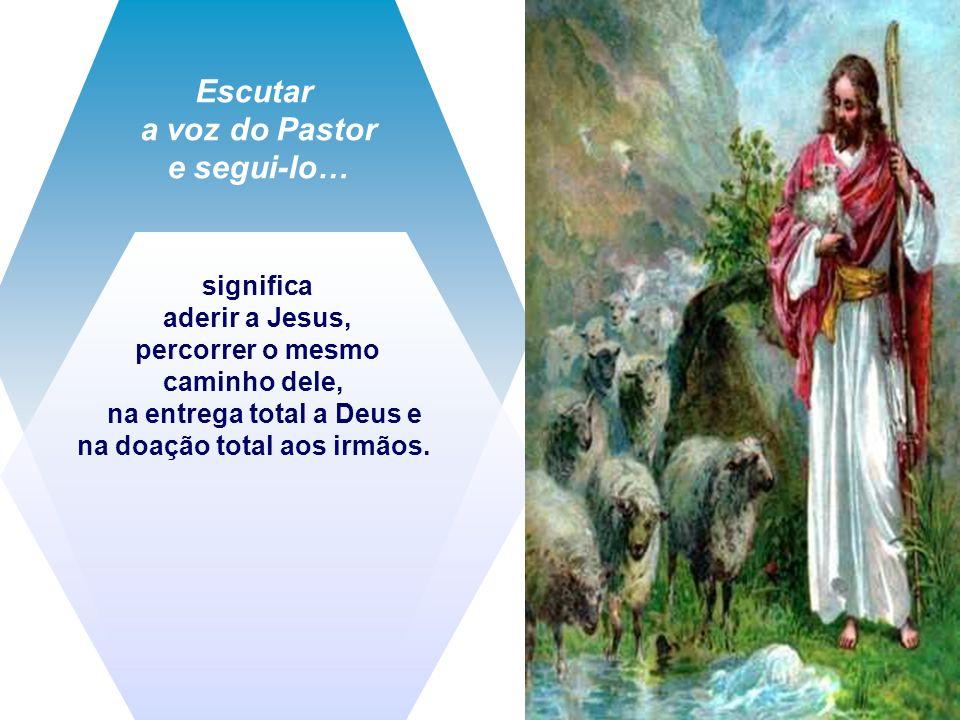 Escutar a voz do Pastor e segui-lo…
