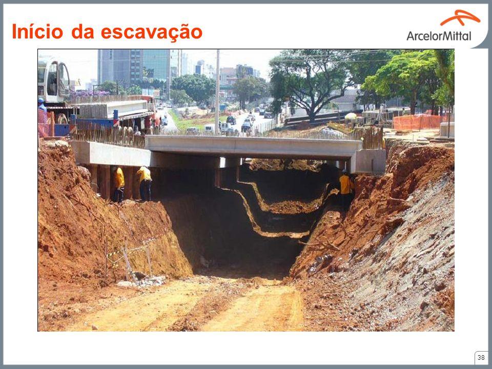 Início da escavação 38