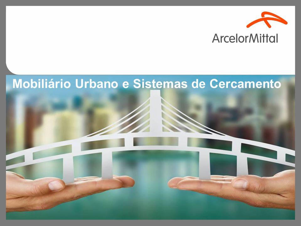 Mobiliário Urbano e Sistemas de Cercamento