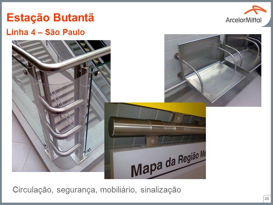 Estação Butantã Linha 4 – São Paulo
