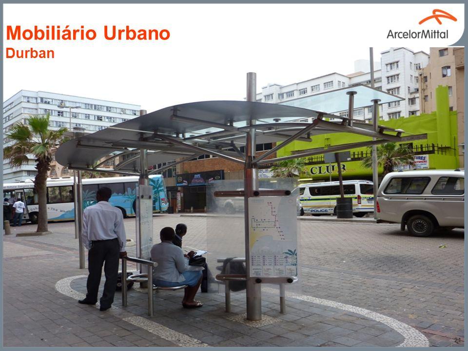 Mobiliário Urbano Durban