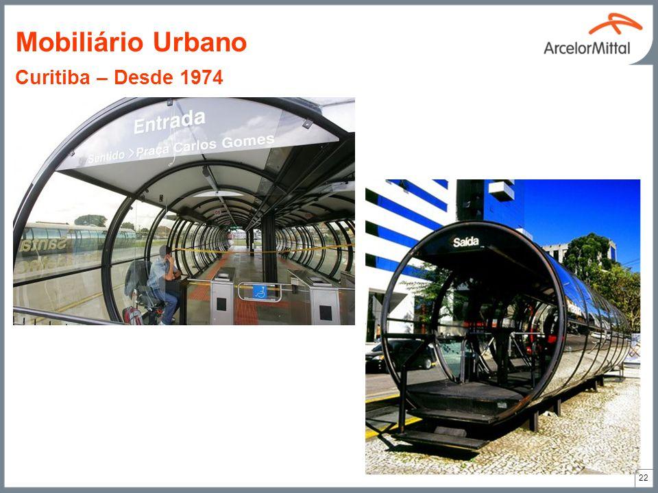 Mobiliário Urbano Curitiba – Desde 1974
