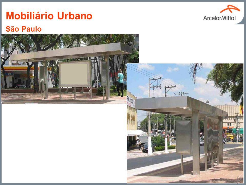 Mobiliário Urbano São Paulo