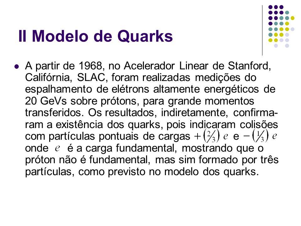 II Modelo de Quarks