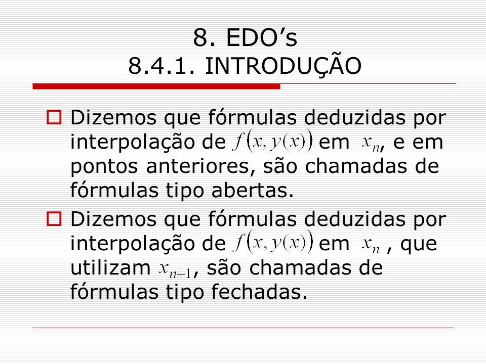8. EDO's 8.4.1. INTRODUÇÃO