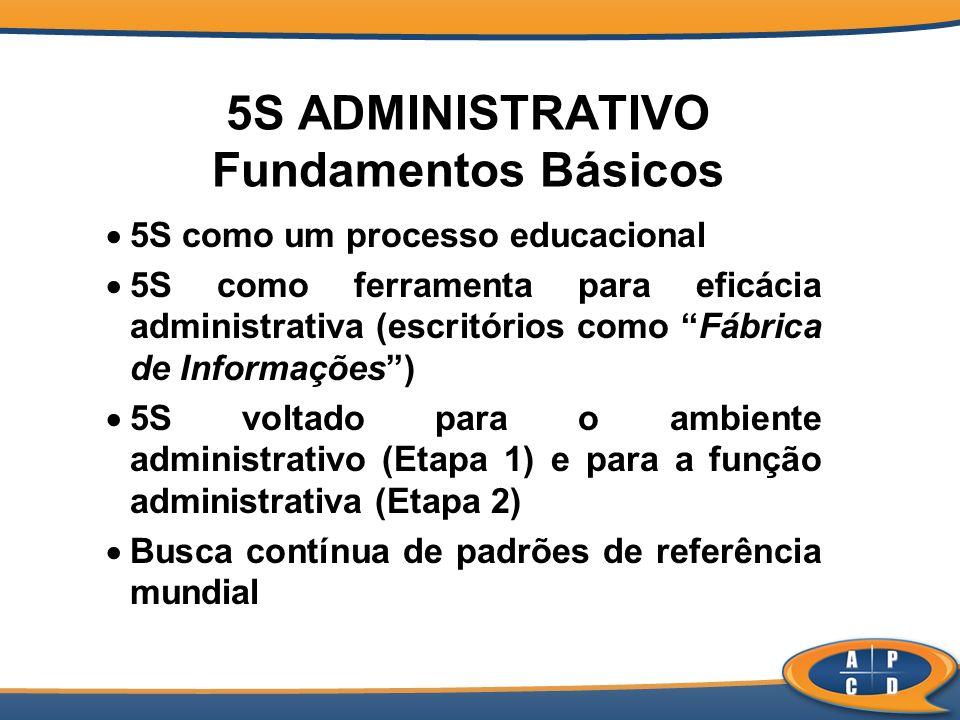 5S ADMINISTRATIVO Fundamentos Básicos